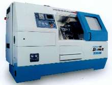 Lathe provides 30 hp spindle and 3-axis turning.