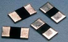 Current Sensing Resistors offer heat/corrosion resistance.