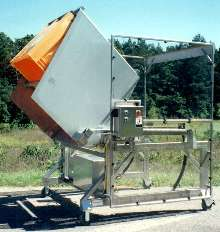 Container Dumper is made of stainless steel.