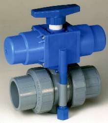 Fail-Safe Ball Valves are constructed of Corzan® CPVC.