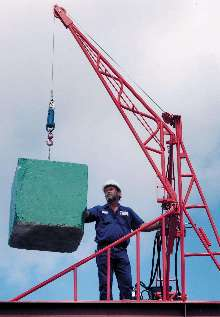 Roofing Hoist provides safe lifting of building materials