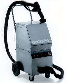 Steam Cleaner includes chemical injection for extra cleaning.