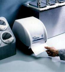 Napkin Dispenser reduces waste by average of 24%.