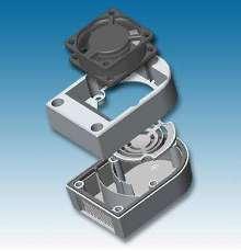 Enclosure Ventilator offers easy installation.