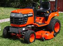 Sub-Compact Tractor carries 398 lbs in front loader.