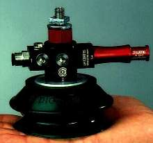 Gripper System has integrated pump and suction cup.