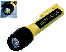 LED Flashlight is saftey approved for industrial use.