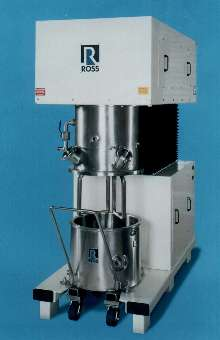 Double Planetary Mixer offers sealed gearbox design.