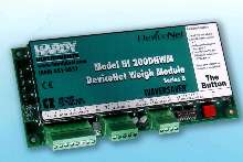 Weigh Module incorporates command interface.