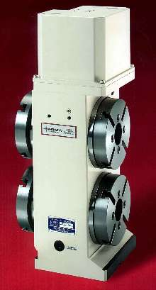 Rotary Table suits 5th axis applications.