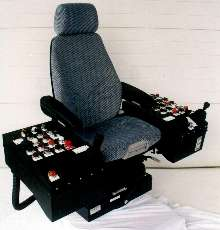 Operator Armchair System is fully adjustable.