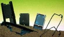 Conductive Thermoplastics provide EMI shielding/grounding.