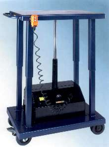 Lift Table raises 6,000 lb loads up to 59 in. high.