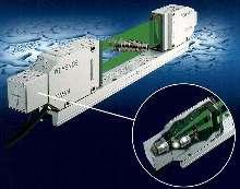 Optical Micrometer uses built-in CMOS camera.