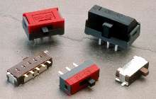 Slide Switches provide design variation.