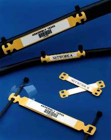 Zero Halogen Cable Markers protect printed paper labels.