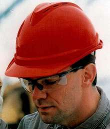 Hard Hat incorporates cooling vents.