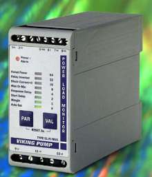 Power Load Monitor protects motor-driven pumps.