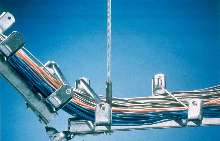 Cable Support System provides pathway for wires and cables.
