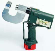 Stud Punch punches 16 gauge structural studs in 5 seconds.
