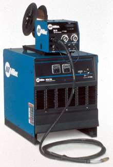 Welding System offers remote WFS/voltage control.