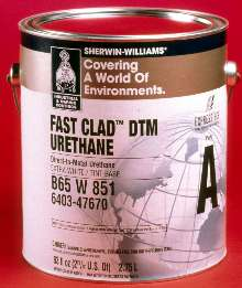 Urethane requires only one coat.