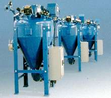 Material Handling System provides pneumatic conveying.