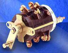 Auxiliary Switch offers unidirectional 90° indexing.