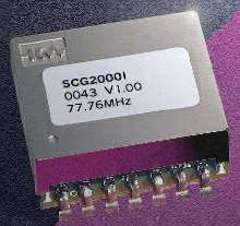 Synchronous Clock Generator operates in industrial temp range.