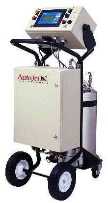 Self-Contained Spraying System applies lubricants and coatings.