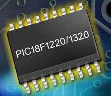 Microcontroller features nanoWatt technology.