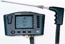 Combustion Analyzer provides reduced set-up time.
