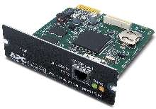 Network Management Card includes on-board modem.