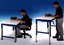 Height Adjustment Kits retrofit workbenches.