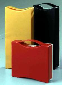 Case organizes and displays products.