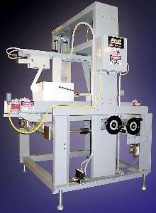 Top-Case Sealer operates with filling/closing equipment.