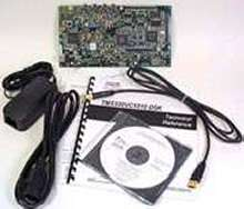DSP Starter Kit contains USB plug-and-play functionality.