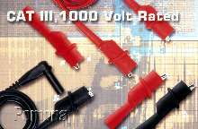 Test Clips feature CAT III, 1000 V, 10 A rating.