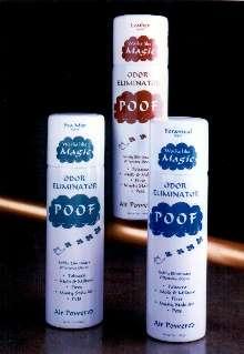 Deodorizer absorbs noxious odors.