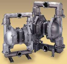 Diaphragm Pumps have wetted parts made of Hastelloy®.