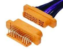 Connectors suit low- to mid-range power applications.