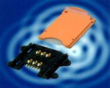 SIM Card Connectors include card carrier tray.