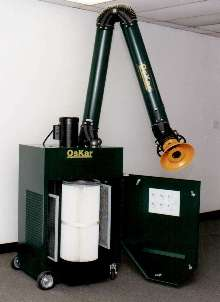 Portable Air Filter handles dry-dust applications.