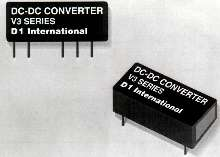 DC/DC Converters feature high-voltage isolation.