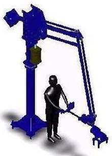 Manipulator has several safety features.