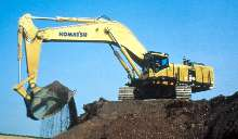Excavator offers 5 arrangements to meet application.