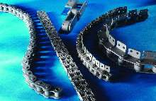 Chain offers double barrier against corrosion.