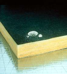 Duct Board has moisture-repellent surface.