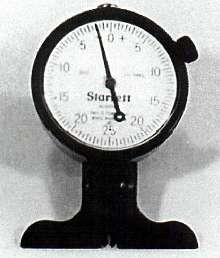 Dial Depth Gauge can measure depth of engravings/etchings.