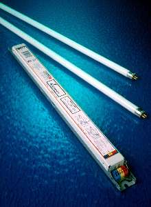 Electronic Ballast operates at 347-480 V, 50/60 Hz.
